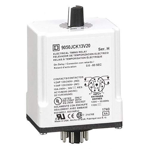 70% OFF Outlet Time Delay Relay 0.6 s Mesa Mall 60 DPDT 10 9050JCK A Series