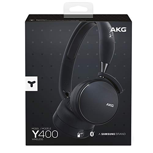 AKG Y400 Inalámbrico Negro