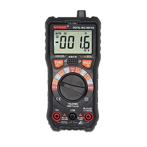 Review Of EODUDO-S High Precision UA9233E Portable LCD Display Digital Multimeter Voltmeter Ammeter ...