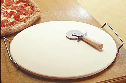 Keramische Pizzasteen Voor Ovengrill En Barbecue, Warmteafvoertechnologie Voor De Beste Knapperige Korst 13