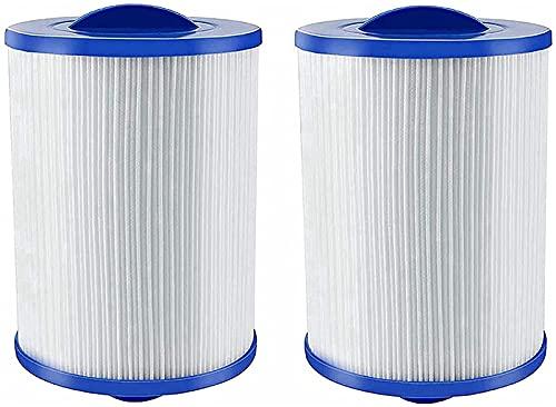 KTMAID Spa Filterkartusche, Whirlpoolfilter Kartuschenfilter, für Pleatco PWW50 Whirlpool-Filter, für Unicel 6CH-940, Filterkartuschen für Jacuzzi Ersatz Filter (2 Pack)