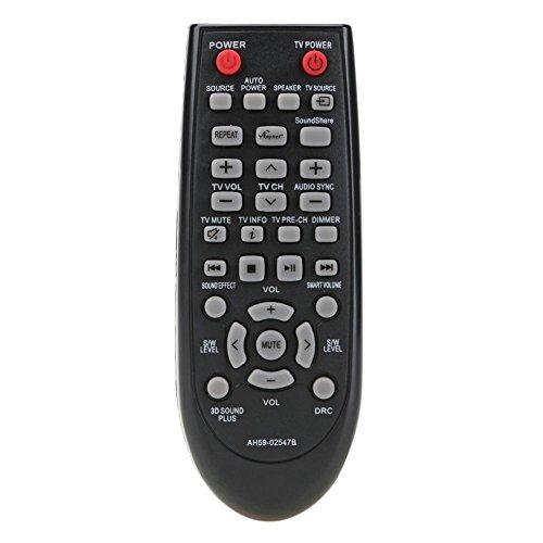 Broadroot para Samsung HW-F450 HWF450 Mando a Distancia Barra de Sonido Control Remoto Reemplazo Universal para TV
