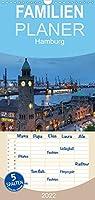 Hamburg - Familienplaner hoch (Wandkalender 2022 , 21 cm x 45 cm, hoch): Eine fotografische Reise durch das abendliche Hamburg (Monatskalender, 14 Seiten )