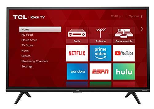 "TCL 32"" 1080p Smart LED Roku TV (Renewed) - 32S327-B"