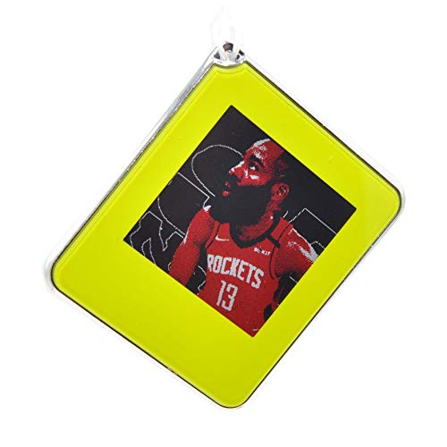 Portable Digital Picture Frame,Mini 1.54inch Passive NFC-Powered E-Paper Label Tag Gift with Tagtek App DIY for Kids,Fans,Key,Luggage and Personalized Dog, Cat ID Tags (Light Green)