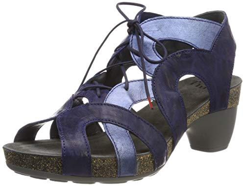 Denk na. Dames Traudi_484576 gesloten teen sandalen