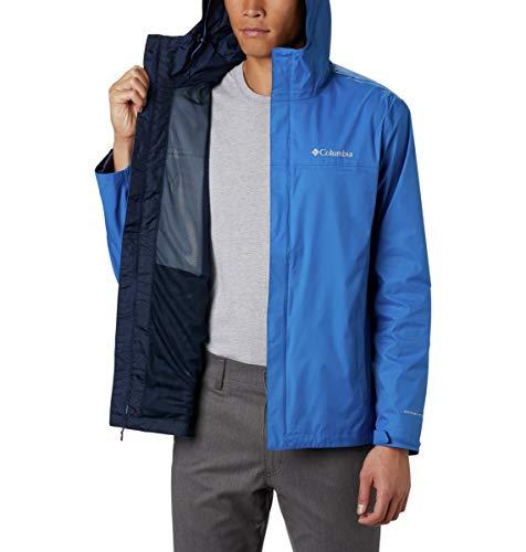 Columbia Watertight II Jacket Blouson de Pluie, Mosstone, M Homme
