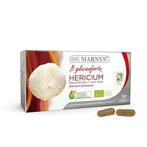 MARNYS Hericium BIO. Línea B-glucanforte Extracto de Melena
