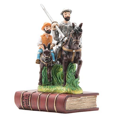 MfHema Figura Don Quijote y Sancho Panza de Cervantes