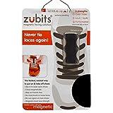 zubits® - Magnetische Schuhbinder/Magnetverschlüsse für Schuhe - Größe #2 Jugendliche und Erwachsene in schwarz