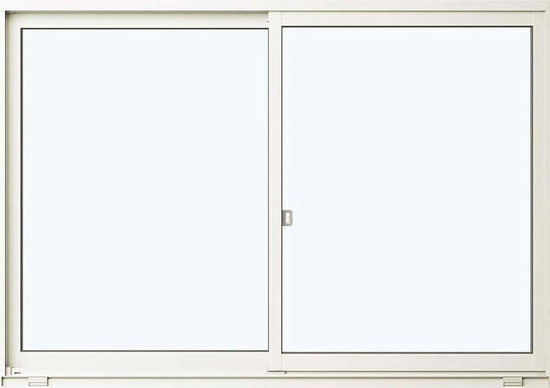 休日に建築家削減返品?キャンセル不可品 メーカー受注生産品 アルミサッシ YKKap 住居向け サッシ 樹脂アングル 「フレミングJ」 引違い窓 半外付型 在来工法 W 780mm×H1170mm 07411 窓 引き違い 半外付け 単板ガラス アングル付 シングルガラス