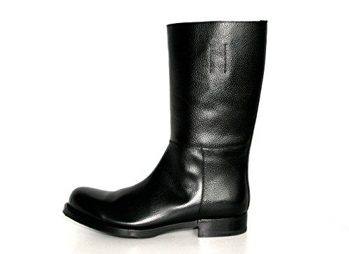 Prada Herren Schwarz Leder Stiefel PCU011 40.5 EU / 6.5 UK