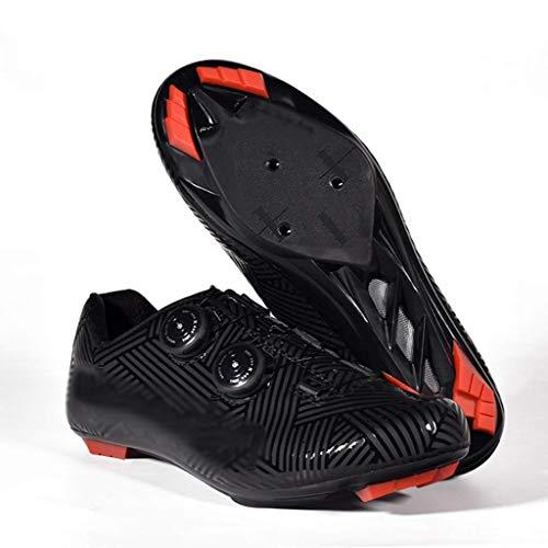 Calzado Ciclismo Calzado Ciclismo para Hombre Calzado con Bloqueo Carretera, Calzado Eléctrico...