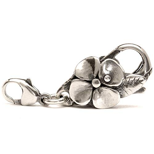 Trollbeads Silber Lock Großer Blumenverschluss