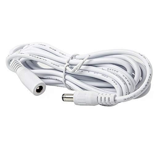 Foscam, lah-ext3mteb, verlengkabel voor IP-camera's tot 12 V, wit, compact