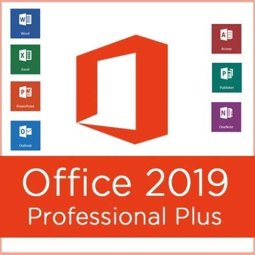 Office 2019 Professional Plus 32/64 bits | Licence key pour 1PC ( seulement pour windows 10 ) | [Téléchargement] - Livraison 2-6h par E-mail-
