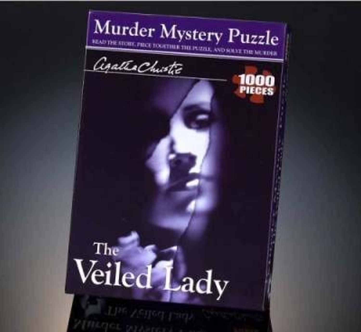 The Veiled Lady Mystery Puzzle by Paul Lamond Games