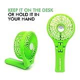 Smiledrive MINI USB FAN Mini Storm Multi Utility Handheld/Table Fan With Inbuilt 4000MAH