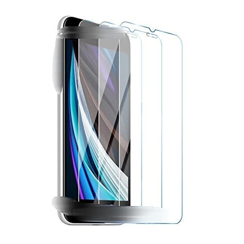 Cristal Templado Película 3 piezas / protector de pantalla de lote Compatible con iPhone 12 Pro Max X XR XS Glaso Vidrio templado compatible con iPhone 11 7 Plus 8 6 6s 5 5 SE Teléfono de vidrio Vidr