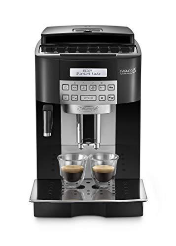 De'Longhi ECAM22.360.B Magnifica S Macchina da caffè Automatica, 1450 W, 1.8 Litri, Acciaio, Plastica, Nero