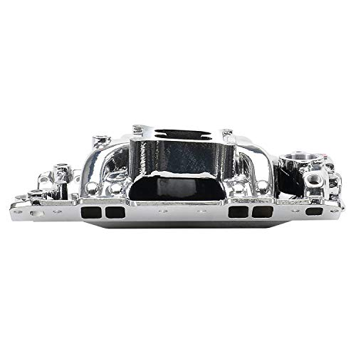 Edelbrock 75014 EnduraShine Performer RPM Air-Gap Intake Manifold