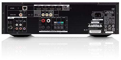Harman/Kardon AVR 151S 375 Watt 5.1-Kanal Audio/Video Receiver (5 x 45 Watt Verstärker) mit 4 x HDMI, Internetradio und USB-Anschluss - Schwarz