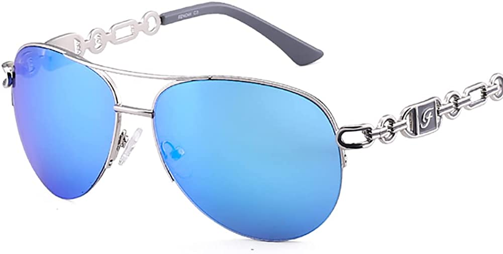 Polarized Sunglasses Women - Trendy Sunglasses with UV Protection for Driving & Fishing Cycling Running Sports