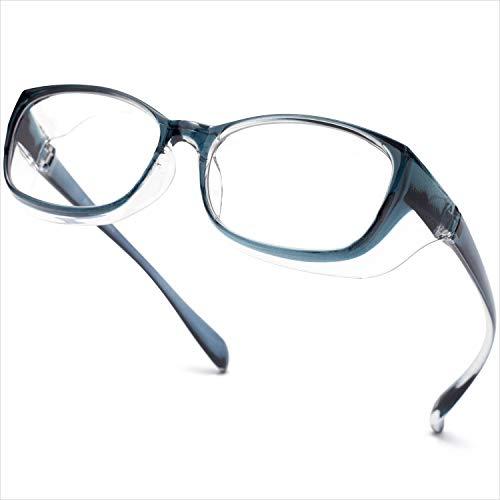 Gafas de seguridad transparentes, antivaho y con revestimiento de arañazos, gafas protectoras a prueba de viento