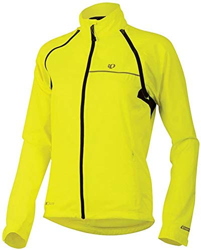 Pearl Izumi Women's Elite Barrier Convertible Cycling Jacket, Yellow, X-Small