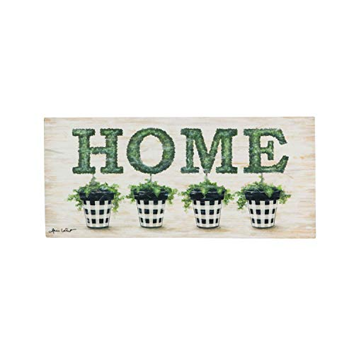 Evergreen Flag Topiary Home Sassafras Switch Mat - 22 x 1 x 10 Inches