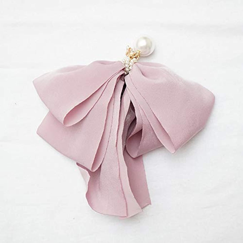 緑発揮する優越HuaQingPiJu-JP ファッションロゼットヘアピン便利なヘアクリップ女性の結婚式のアクセサリー(パープル)