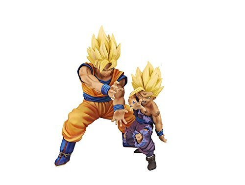 Dragon Ball Z DRAMATIC SHOWCASE vol.1 Gohan & vol.2 Goku parent-child Kamehameha set of 2