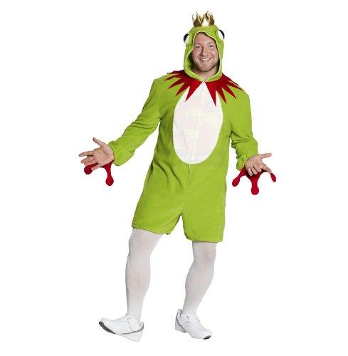 Faschingskostüm - Frosch Overall Gr. XXL
