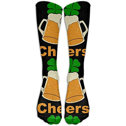 NA Prost op Bier St. Patrick's Day heren dames comfort vrije tijd slang sokken lange sokken crew sokken unisex