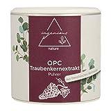 ingenious nature® Laborgeprüftes OPC Traubenkernextrakt Pulver - hochdosiert, 71% OPC Gehalt nach HPLC. Höchster OPC Gehalt auf dem Markt. (60g)