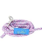 Taumur färgglad stad hundkoppel koppel för medelstora hundar av robust PPM, lila