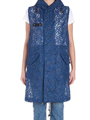 MR&MRS ITALY Luxury Fashion Damen WLB779SXMEGOR5476 Blau Polyester Mantel | Frühling Sommer 20