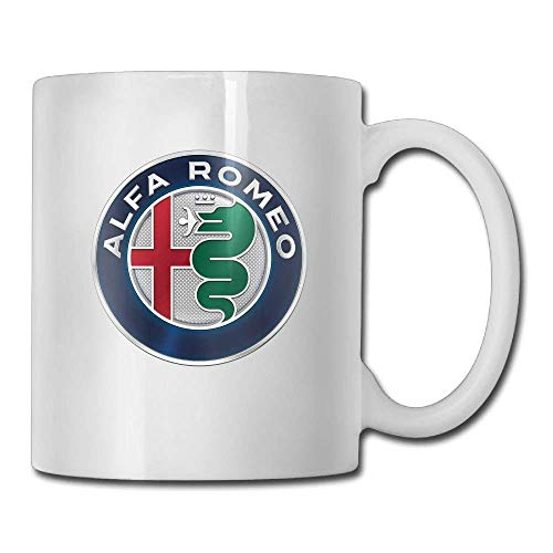 LINNJ Becher Kaffeetasse,Alfa Romeo Coffee Cups and Gift Tea Mugs Water Cup Ceramic Cup Travel Cups