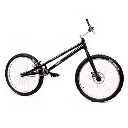LJLYL Essai de vélo de 24 Pouces pour Adultes, Cadre en Alliage d'aluminium et Fourche Avant en Acier, essai Complet de Saut à vélo avec Frein Avant AVID-BB5 / Frein arrière WINZIP