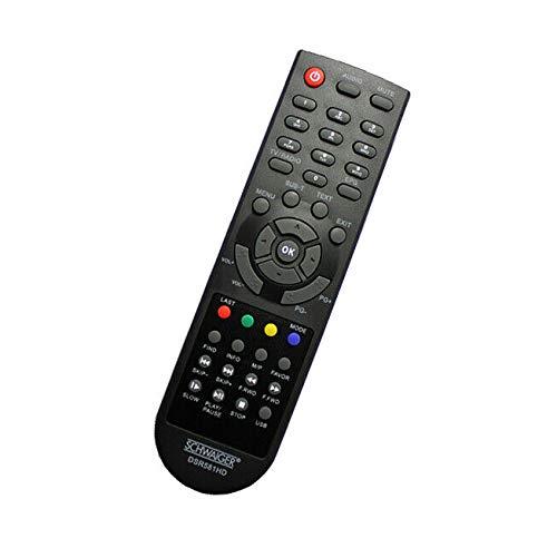 Original Fernbedienung Schwaiger DSR 581 HD 011 Receiver Remote Control Neu - afstandsbediening, télécommande, Kumanda, Plug & Play