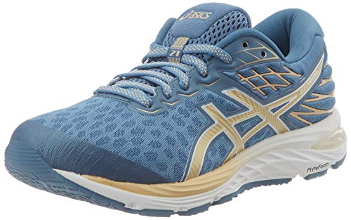 ASICS Women's Gel-Cumulus 21 Sneaker, Gray Floss Champagne, 4.5 UK (37.5 EU)