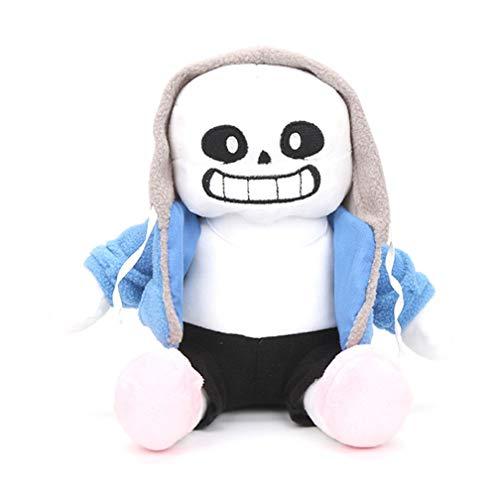 EASTVAPS 22cm Undertale Plush Toy Sans Peluche Muñeco De