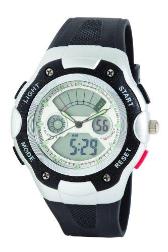 Dunlop Orologio Digitale Quarzo Uomo con Cinturino in Gomma DUN237G02