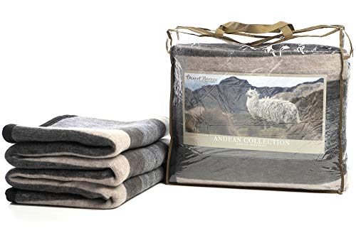 Desert Breeze Alpaca and Sheep Wool Blanket