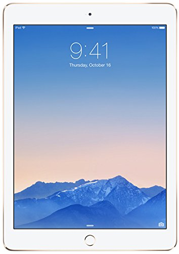 Apple iPad Air 2 Wi-Fi + Cellular 128GB - Gold (4G, LTE, 9.7' Retina Display)