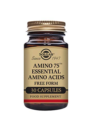 Solgar Amino 75 Essential Acid Vegetable Capsules - Pack of 30