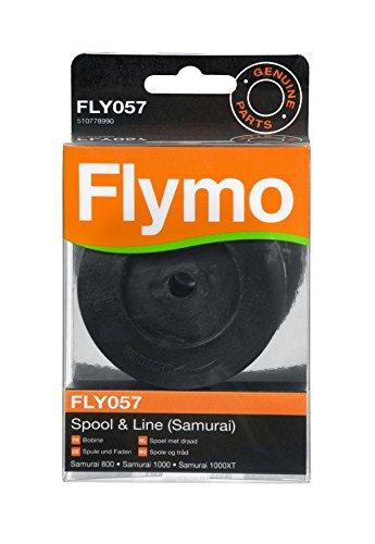 Flymo FLY057 Bobine de double fil et fil Adapté pour Samurai 800/1000/1000XT