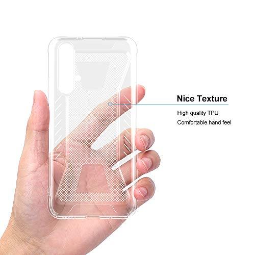 CRESEE für Huawei Nova 5T / Honor 20 Hülle Case, Schutzhülle Transparente Dünn Weich Silikon Cover Bumper Stoßfest Handyhülle Fall für Huawei Nova 5T/ Honor 20 (Transparent) - 4