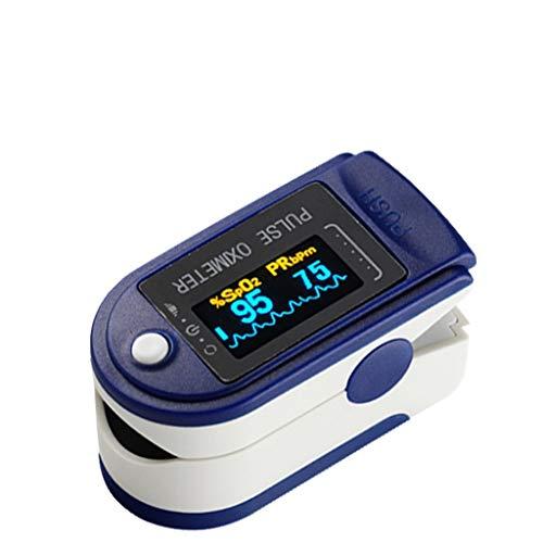 Oximéter de pulso Memund Fingertip com monitoramento digital multiuso e SpO2 com visor digital LED para esportes ou uso diário