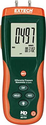 Extech Instruments Manometer with Nist